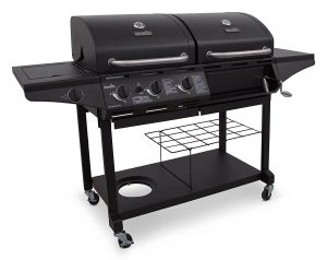 Gas & Charcoal Combo Grill
