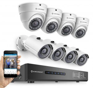 Amcrest ProHD 1080P 8CH Video Security System