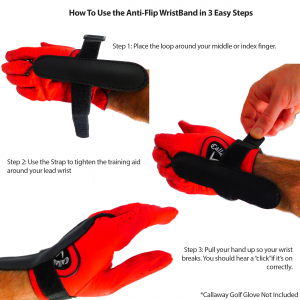 How to Use the Anti-Flip Wrist Band